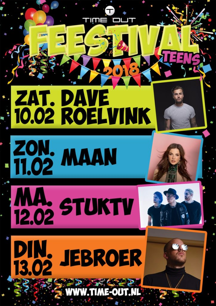 Carnaval 2018, tienercarnaval, teenage party, teens carnaval, feestival, carnaval gemert, time out gemert