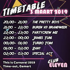 Time Tabel