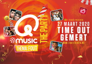 Q Music Time Out 27 maart